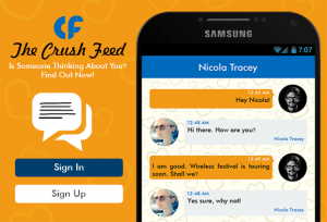 The Crush Feed android app