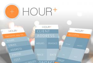 Hour+ mobile app