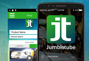 Jumbletube app screenshot