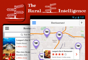 The Rural Intelligence mobile app screenshot