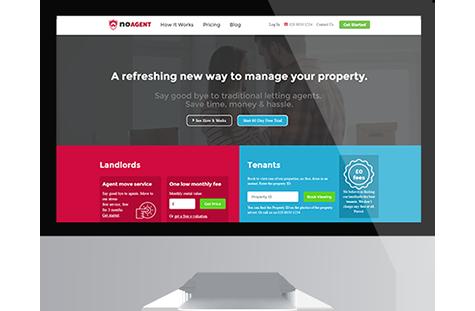 noAGENT website