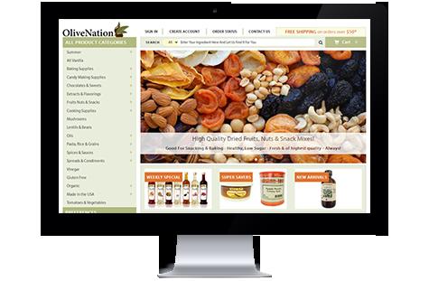Olive Nation website