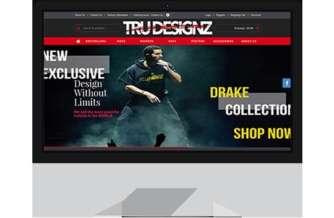 trudesignz website
