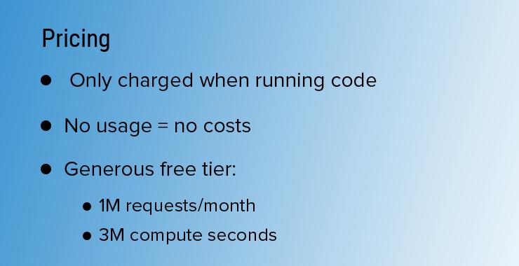 2 - Serverless Pricing