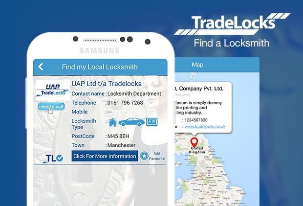 tradlock andriod app