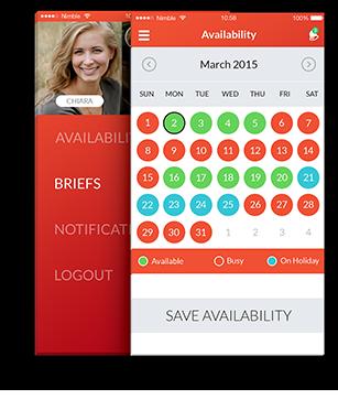 Nimble app features