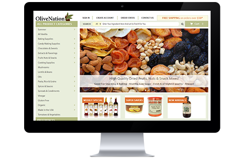 Olive Nation website