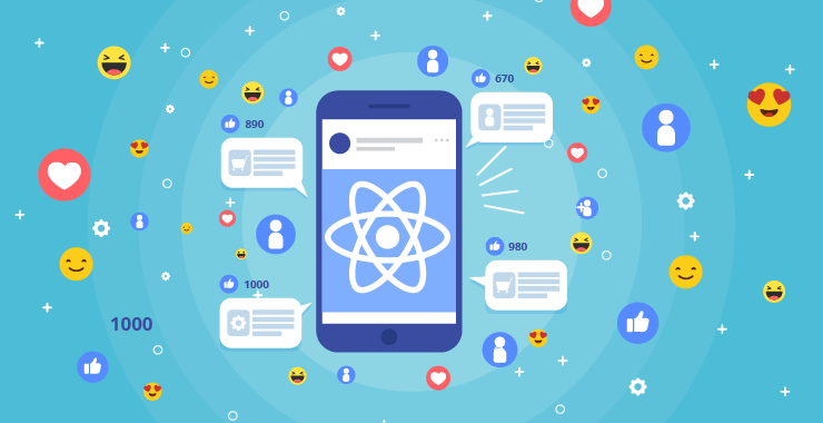 Social Networking App in React