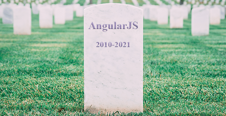 death of AngularJS